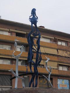 Escultures Públiques de Mataró: 40. L'ESPERIT DE FIGUERA MAJOR