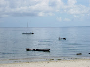 Praia em Pemba