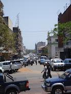 Ruas em Maputo