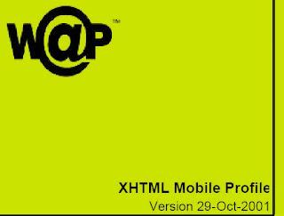 XHTML Mobile Profile