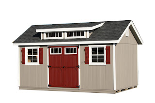 Prefab Shed Dormers | Shed with Transom Windows | Horizon