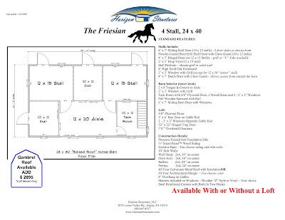 Fresian Floor Plan