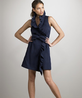 0b1e49ea5a The Look 4 Less  Milly Ruffle Wrap Dress
