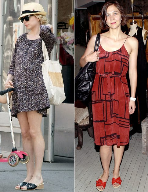3f27df5b33c8 Celeb Style Steal  Michelle Williams and Maggie Gyllenhaal in Worishofer  Sandals