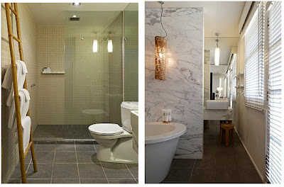 Natural modern interiors the prince hotel melbourne australia Small bathroom design melbourne