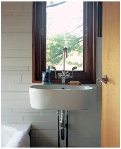 Bathroom Ideas Mirror: Natural Modern Interiors: Small Bathroom Design Ideas