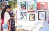 fans on the exhibition-at kadri kalaavali