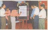 spot caricature at ujire SDM college