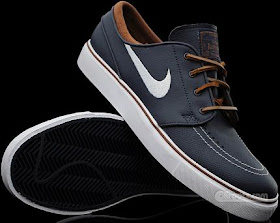 muy bonito tienda de descuento mejor calidad Sneaker Wize: Nike SB Zoom Stefan Janoski Obsidian Leather-Brown/White