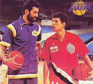 45cf7e2714c Photo  NBA entertainment. Vlade Divac   Dražen Petrović