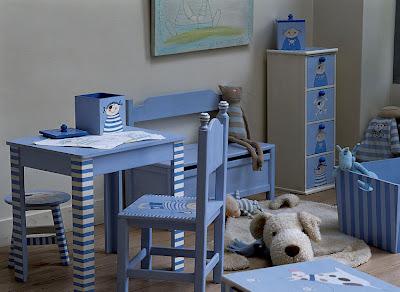 Hvit Linje: Inspirasjon til barnerommet...