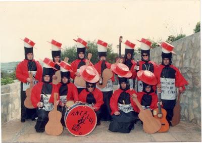 Pepe Rojas on Chirigota A Quien No Le Gusta Un Pepe Tio Carnaval Jimena 1989
