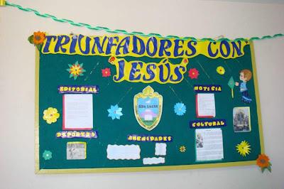 Colegio parroquial anglicano san lucas aniversario del for Diario mural en ingles