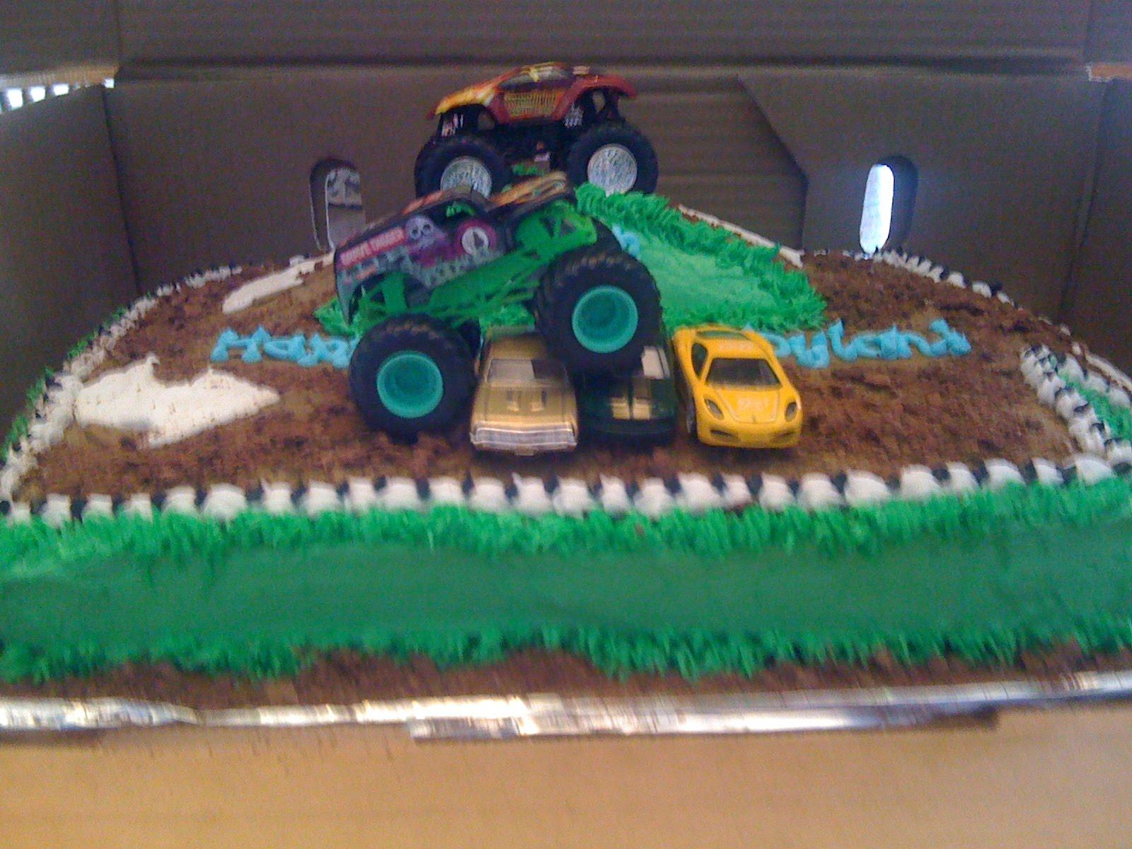 Monster Truck Cake Easy
