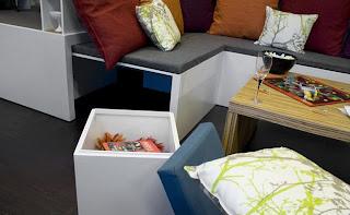 Muebles para espacios pequeñosl
