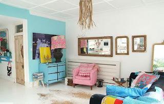 Colores pastel en tu habitación te relajaran.