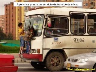 foto de transporte chistosa