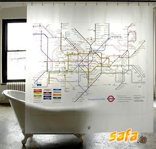 Cortinas de baño muy creativas