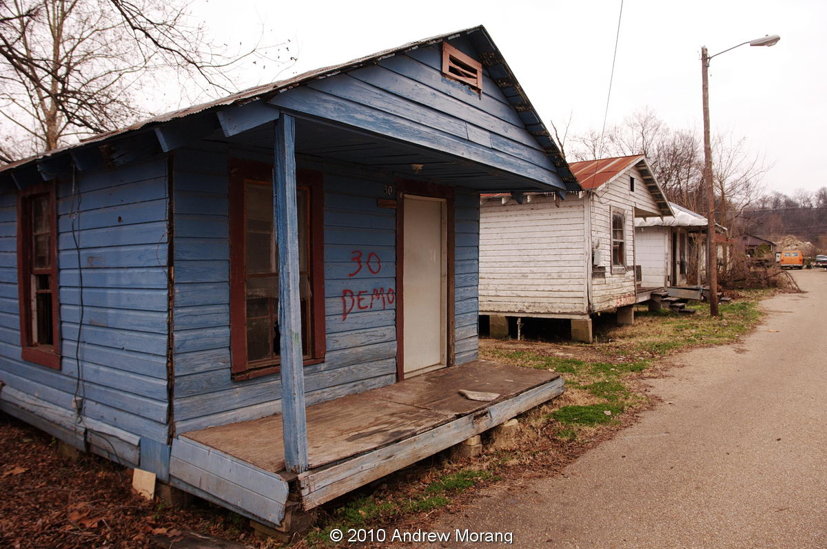 Urban decay more shotgun shacks marys alley vicksburg ms for Shack homes