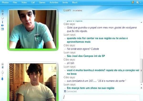 Gay cam messenger
