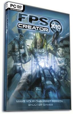 Crea tus propios juegos FPS con FPS Creator X10 1