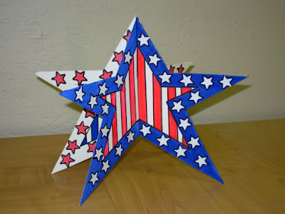 veteran's remembrance day star decoration namc montessori activities