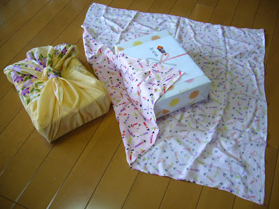 NAMC montessori practical life activities furoshiki environmentally friendly wrapping material