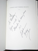 Book signed by Libba Bray