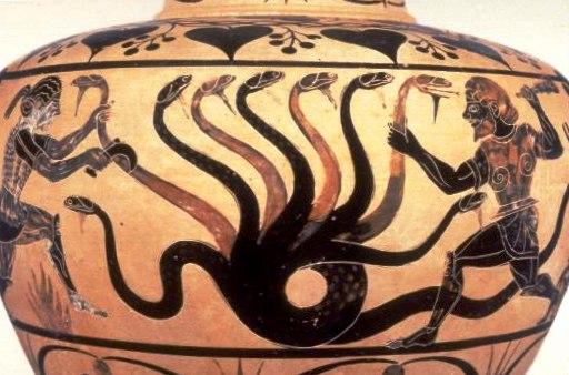 Monster In My BlogGreek Mythology Hydra