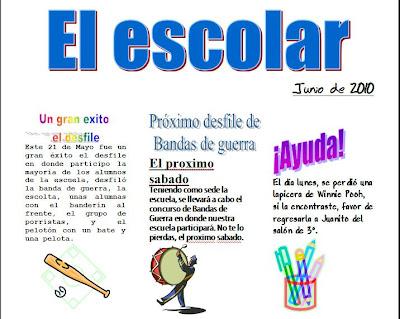 Ejemplo De Una Noticia Para Niños De Primaria Compartir Ejemplos