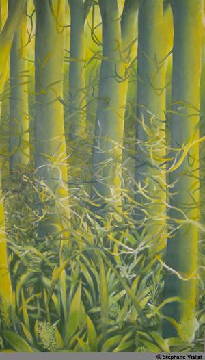Peinture à l'huile - 125x190 cm