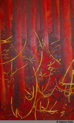 Peinture à l'huile - 110x175 cm