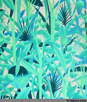 Peinture à l'huile - 107x124 cm