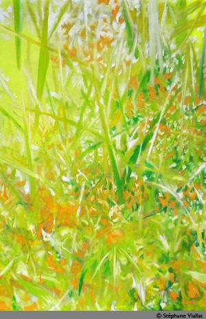 Peinture à l'huile - 73x109 cm