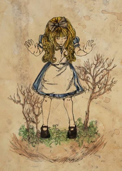 Drawings Of Alice In Wonderland Characters – Colorings.net