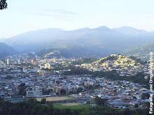 Vista de la Ciudad Valera desde el mirador de Carvajal