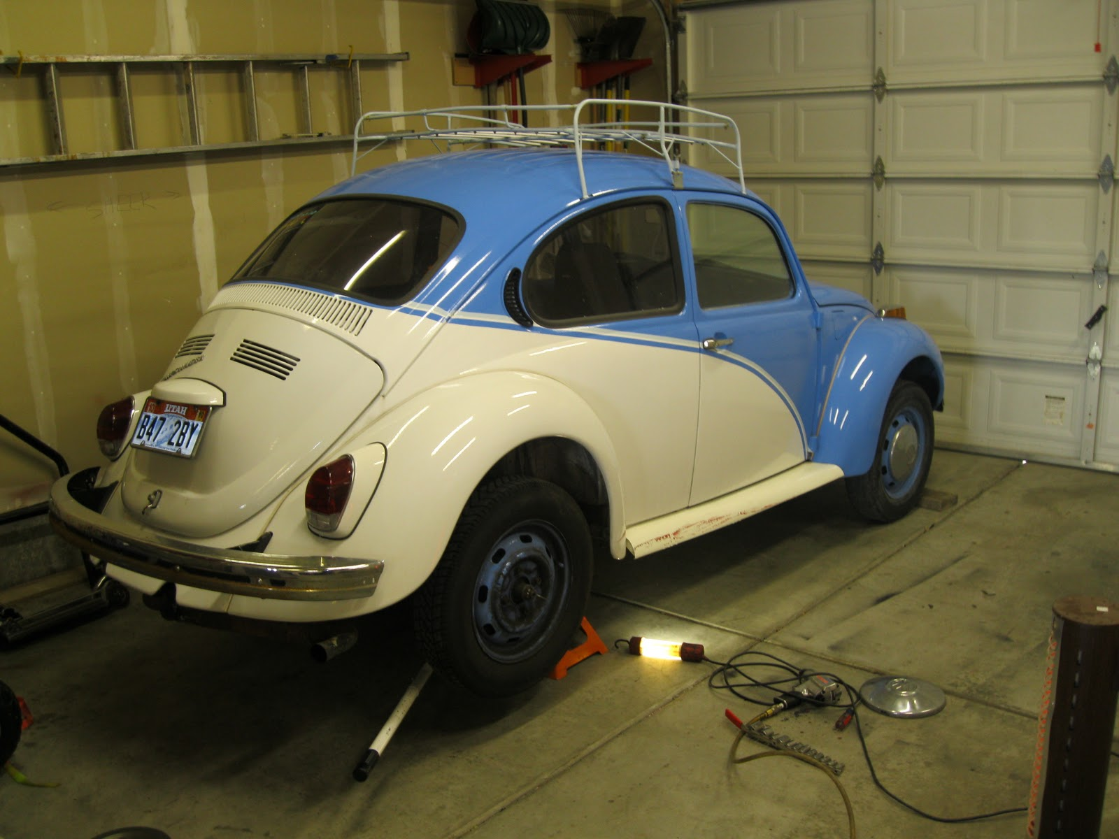 Vw Beetle Rear Suspension Diagram 2001 Ford Focus Engine Front Wiring Diagrams The Bug Boys Rebuilding A Supers End 1972