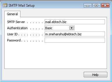 How to Send SMTP mail from Navision Application (2/2)