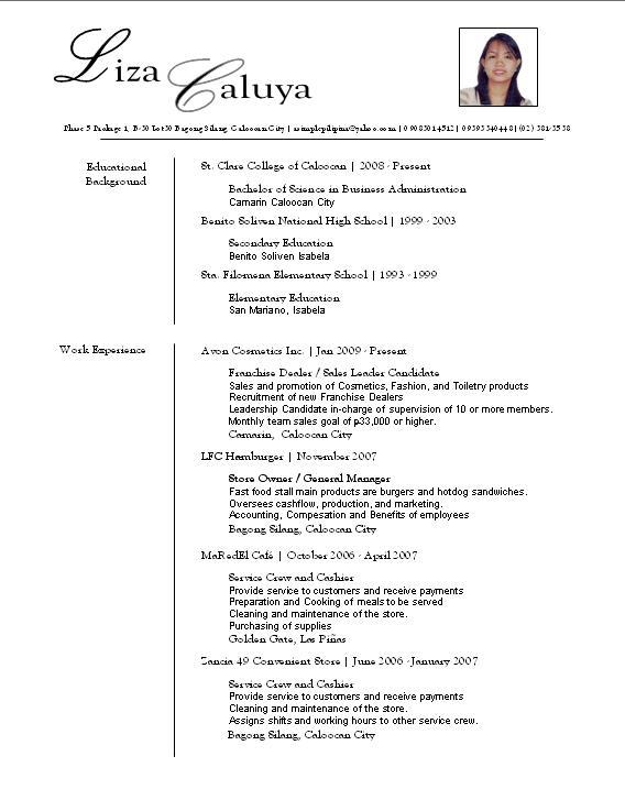 a resume layout Oylekalakaarico