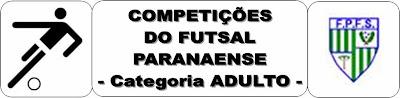 Resultado de imagem para federação paranaense de futsal adulto logos