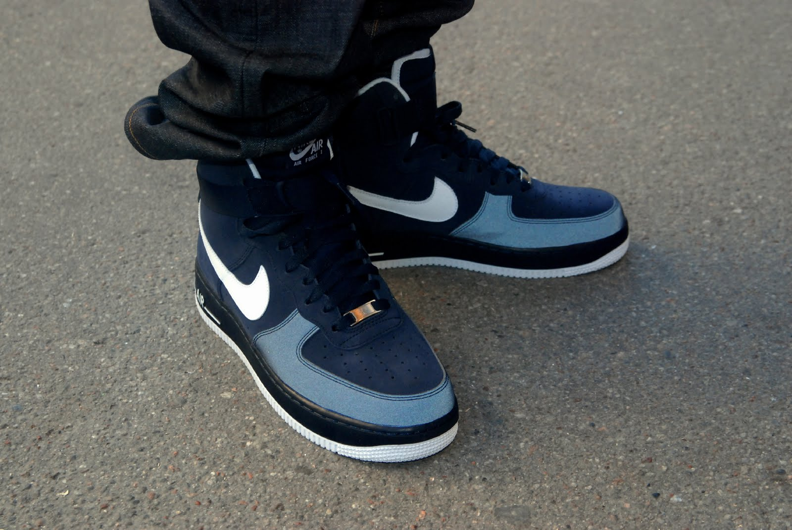 six feet down nike air force 1 high