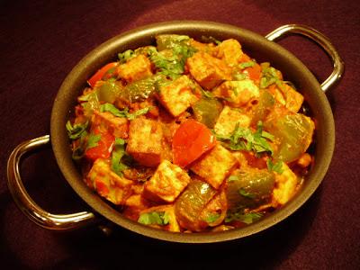 Kadai Paneer Gravy Hebbar S Kitchen