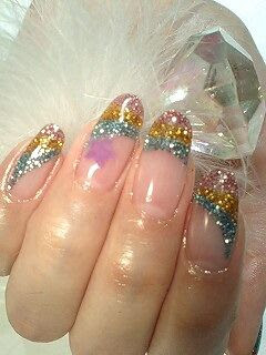 Of Japans Stereoscopic Nail Art I Love How Like Trends It Can Be Seasonal Nails Custom Made For The Individual