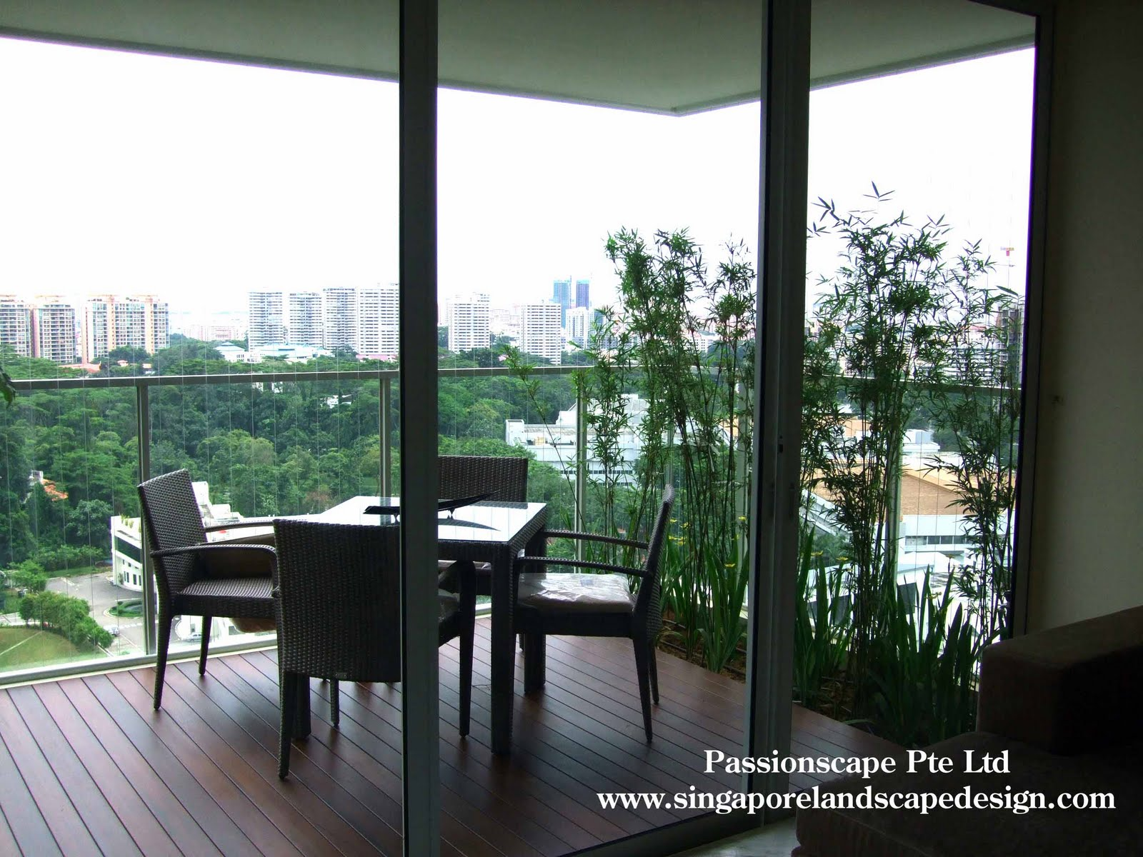 Singapore Landscape Design: Lifestyle Patio 1