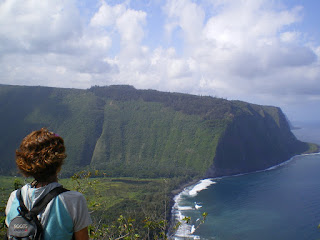 On the North Shore of the Big Island of Hawaii: Jurassic Park territory