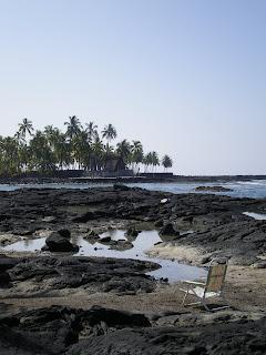 Snorkelling spots south of Kona in Hawaii