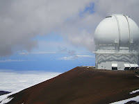 Observatory at the top of Mauna Kea