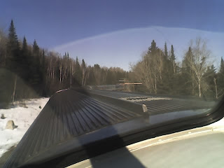 View of the train across Canada as taken from the dome car