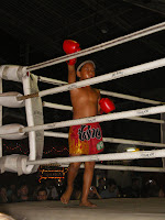 the Muay Thai Boxing contender