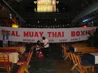 Real Muay Thai Boxing banner